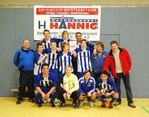 Das Hannig Team und Victoria Lauenau