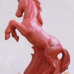Ein Pferd als Dachschmuck